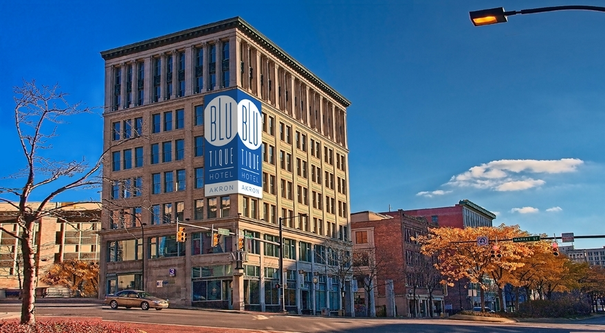 Historic Downtown Akron Building To Become The United 1 A Blu Tique Hotel
